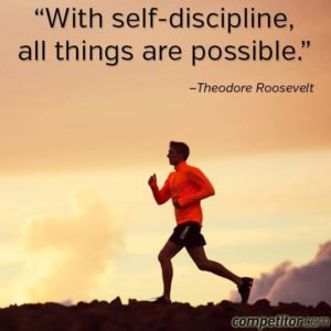 With self discipline all things are possible