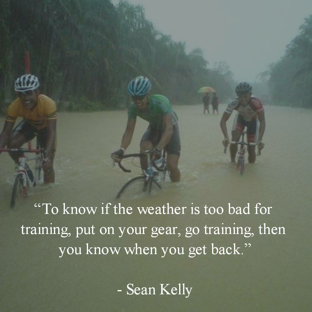 Go riding no matter what the weather